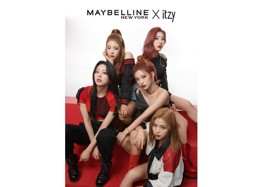 Maybelline names K-pop's ITZY as global spokesmodels