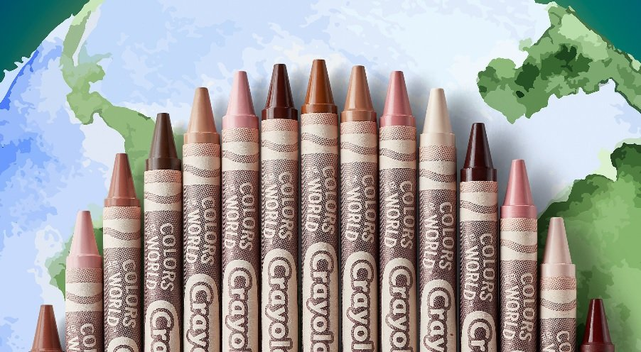 Crayola teams up with MOB Beauty to develop inclusive palette