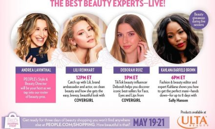 Coty partners with People for live beauty event