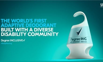 Degree creates inclusive deodorant for visually impaired and disabled consumers